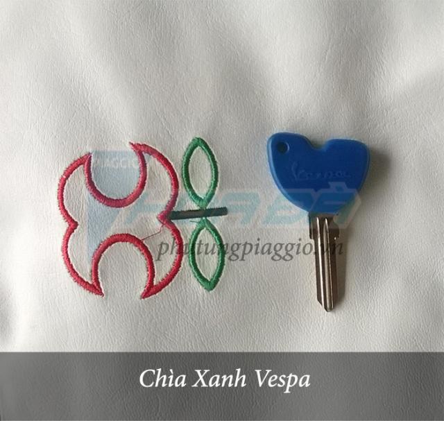 Chìa xanh Vespa LX