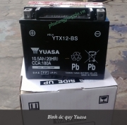 Bình ắc quy xe Vespa LX