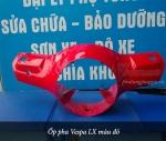 Ốp pha Vespa LX màu đỏ